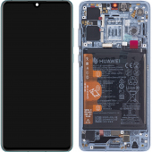 Huawei P30 Blue (Breathing Crystal) LCD Display Module + Battery (New Code)