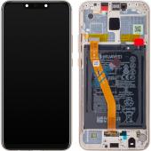 Huawei Mate 20 Lite Gold LCD Display Module + Battery