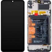 Huawei Y6p Black LCD Display Module + Battery