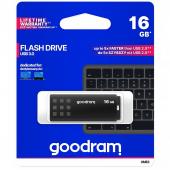 External Memory GoodRam UME3, 16Gb, USB 3.0, Black, SMC0182 (EU Blister)