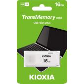 External Memory KIOXIA U202, 16Gb, USB 2.0, White,  LU202W016GG4 (EU Blister)