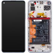 Huawei P40 lite 5G Space Silver LCD Display Module + Battery