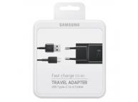 Samsung Travel Charger Type-C EP-TA20EBECGWW Black (EU Blister)