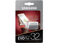 Memory Card MicroSDHC Samsung EVO Plus 32GB C10/UHS-I with Adapter MB-MC32GA/EU