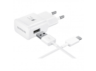 EP-TA20EWE Fast Charger White + Type C White Cable
