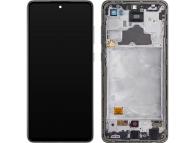 Samsung Galaxy A72 4G A725 Black LCD Display Module