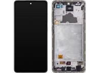 Samsung Galaxy A72 4G A725 White LCD Display Module