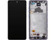 Samsung Galaxy A72 4G A725 Purple LCD Display Module