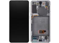 Samsung Galaxy S21 5G G991 White LCD Display Module