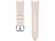 Hybrid Leather Band (20mm, S/M) for Samsung Galaxy Watch4  / Samsung Galaxy Watch4 Classic ET-SHR88SPEGEU Pink (EU Blister)