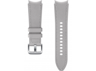 Hybrid Leather Band (20mm, S/M) for Samsung Galaxy Watch4  / Samsung Galaxy Watch4 Classic ET-SHR88SSEGEU Silver (EU Blister)