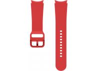 Sport Band (20mm, M/L) for Samsung Galaxy Watch4 / Samsung Galaxy Watch4 Classic ET-SFR87LREGEU Red (EU Blister)