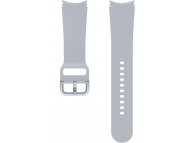 Sport Band (20mm, M/L) for Samsung Galaxy Watch4 / Samsung Galaxy Watch4 Classic ET-SFR87LSEGEU Silver (EU Blister)
