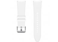 BlackRidge Sport Band (20mm, S/M) for Samsung Galaxy Watch4  / Samsung Galaxy Watch4 Classic ET-SFR88SWEGEU White (EU Blister)