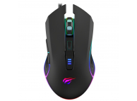 Gaming mouse Havit GAMENOTE MS1018 RGB 1000-3200 DPI