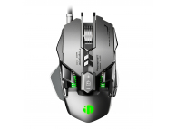 Inphic PG1 wired gaming mouse (silver/green)