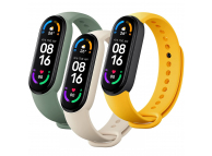 Xiaomi Mi Smart Band 6 Strap(3 pack) Ivory/Olive/Yellow BHR5135GL (EU Blister)