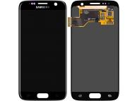 Samsung Galaxy S7 G930 Black LCD Display Module