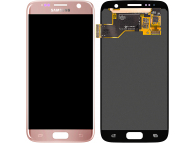 Samsung Galaxy S7 G930 Pink LCD Display Module