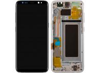 Samsung Galaxy S8 G950 Silver LCD Display Module