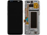 Samsung Galaxy S8+ G955 Silver LCD Display Module