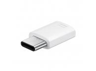 Samsung USB Adapter Type-C - MicroUSB EE-GN930BWEGWW White (EU Blister)
