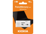 External Memory KIOXIA U301, 16Gb, USB 3.2, White, LU301W016GG4 (EU Blister)