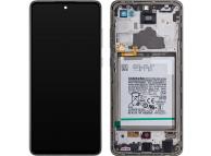 Samsung Galaxy A72 4G / 5G A725 / A726 Black LCD Display Module