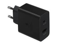 Samsung 35W Power Adapter Duo EP-TA220NBEGEU Black (EU Blister)