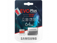 Memory Card MicroSDXC Samsung EVO Plus 64Gb C10/UHS-1 U1 with Adapter MB-MC64HA/EU