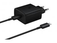 Samsung PD 45W Fast Wall Charger EU Plug EP-TA845XBEGWW Black (EU Blister)
