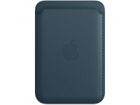 Leather Wallet with MagSafe for Apple iPhone 12 / 12 mini / 12 Pro / 12 Pro Max Baltic Blue MHLQ3ZM/A (EU Blister)