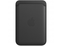 Leather Wallet with MagSafe for Apple iPhone 12 / 12 mini / 12 Pro / 12 Pro Max Black MHLR3ZM/A (EU Blister)