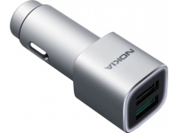 Nokia Fast Charge Dual USB Qualcomm 3.0 Car Charger DC-801 Silver (EU Blister)