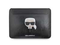 Leather Sleeve Cover Karl Lagerfeld for MacBook Air/ProBlack KLCS133KHBK (EU Blister)
