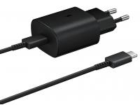 Samsung PD 25W Fast Wall Charger EU Plug EP-TA800XBEGWW Black (EU Blister)
