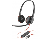 Plantronics Blackwire C3220 USB-A (209745-101 / 209745-201) (EU Blister)