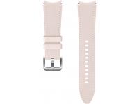 Hybrid Leather Band (20mm, M/L) for Samsung Galaxy Watch4  / Samsung Galaxy Watch4 Classic ET-SHR89LPEGEU Pink (EU Blister)