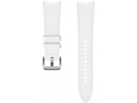 Hybrid Leather Band (20mm, M/L) for Samsung Galaxy Watch4  / Samsung Galaxy Watch4 Classic ET-SHR89LWEGEU White (EU Blister)