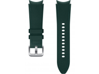Hybrid Leather Band (20mm, S/M) for Samsung Galaxy Watch4  / Samsung Galaxy Watch4 Classic ET-SHR88SGEGEU Green (EU Blister)