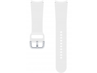 Sport Band (20mm, M/L) for Samsung Galaxy Watch4 / Samsung Galaxy Watch4 Classic ET-SFR87LWEGEU White (EU Blister)