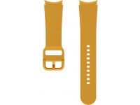 Sport Band (20mm, M/L) for Samsung Galaxy Watch4 / Samsung Galaxy Watch4 Classic ET-SFR87LYEGEU Mustard (EU Blister)