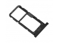 SIM Tray for Huawei P Smart+ 2019 Black 51661JUE