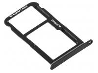 SIM Tray for Huawei P10 Lite Black 51661EPF