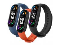 Xiaomi Mi Smart Band 6 Strap(3 pack) Black/Orange/Blue BHR5134GL (EU Blister)