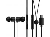 OnePlus Type-C Bullets Earphones Black 1091100041 (EU Blister)