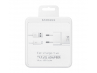 Samsung Travel Charger MicroUSB EP-TA20EWEUGWW White (EU Blister)