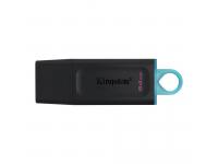 External Memory Kingston DT Exodia, 64Gb, USB 3.2, Black and Blue, DTX/64GB (EU Blister)