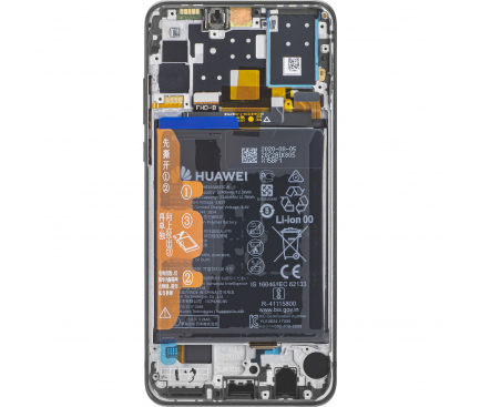 Huawei P30 lite (New Edition) Black LCD Display Module + Battery